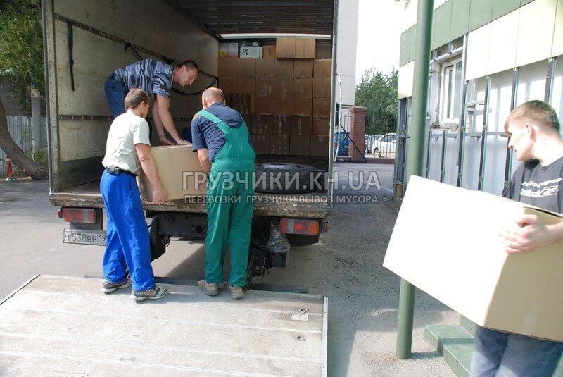 Вантажоперевезення газеллю