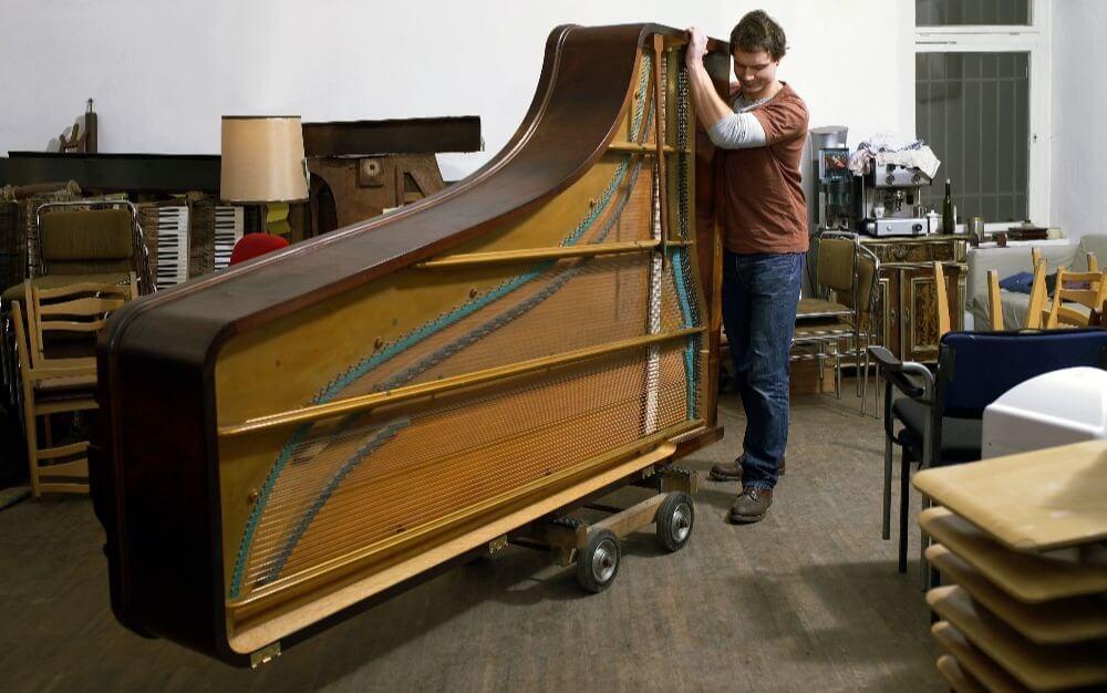 как перевозить пианино