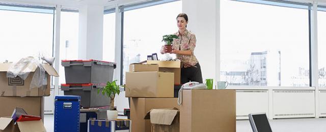 организация переезда офиса